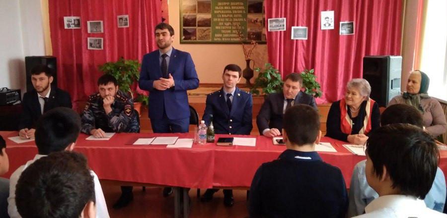 В районах республики прошли мероприятия по профилактике правонарушений среди несовершеннолетних