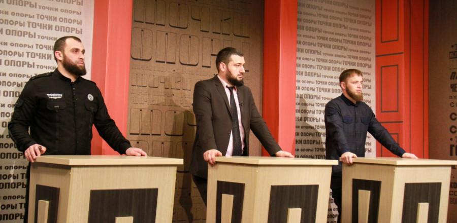 Министр Чеченской Республики по делам молодежи Иса Ибрагимов принял участие в ток-шоу на ЧГТРК «Грозный»