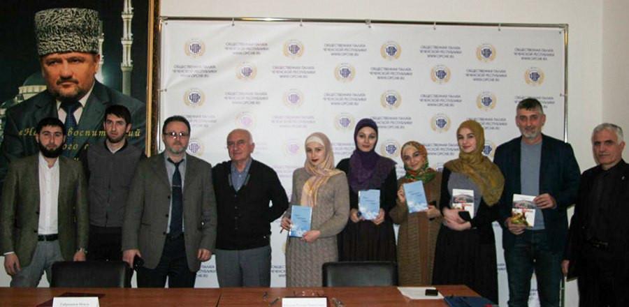 Студенты встретились с известным чеченским поэтом Русланом Юсуповым