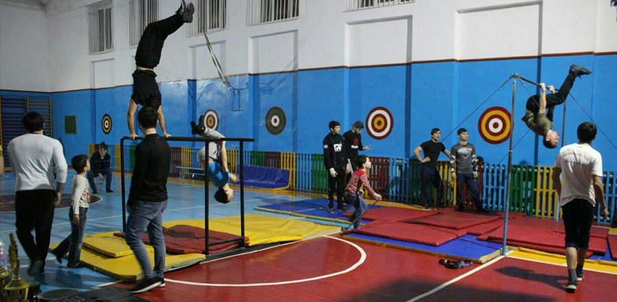 В Чечне прошли соревнования по воркауту
