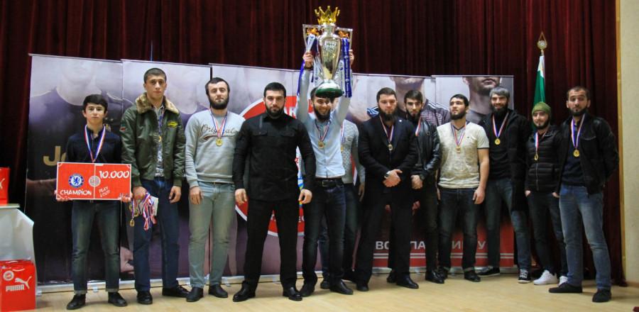 В Минмолодежи ЧР состоялось награждение победителей любительской футбольной лиги «Amateur League»